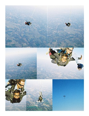 Christie Skydives Collage Medium Web view 2